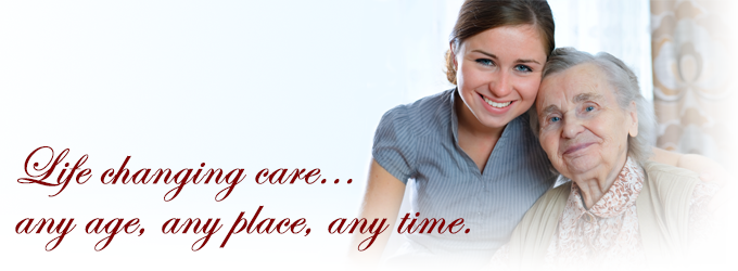 Caretakers Home Care Services - Life changing care... any age, any place, any time.